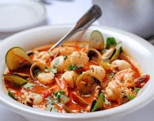 Seafood Tomato Stew