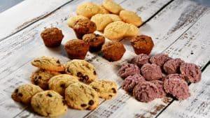 Keto Ube Cookies